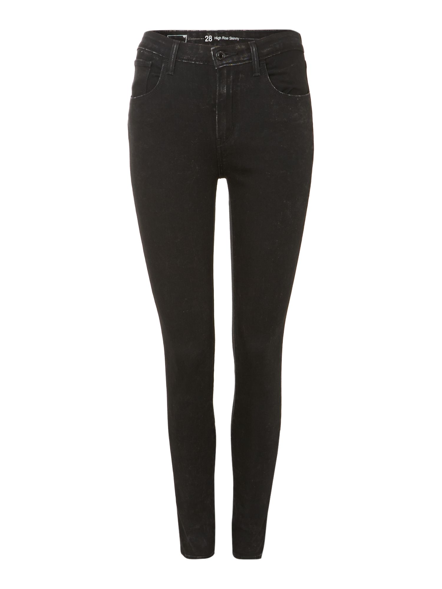 High rise super skinny jeans in gravel