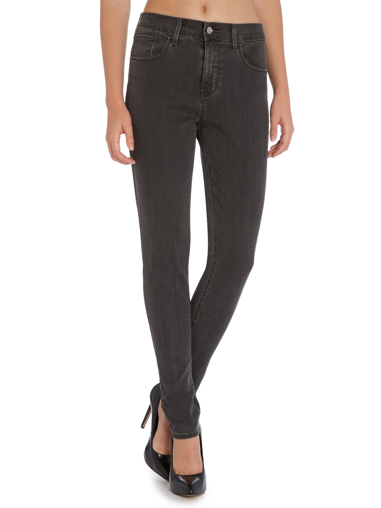 High rise skinny jeans in equinox
