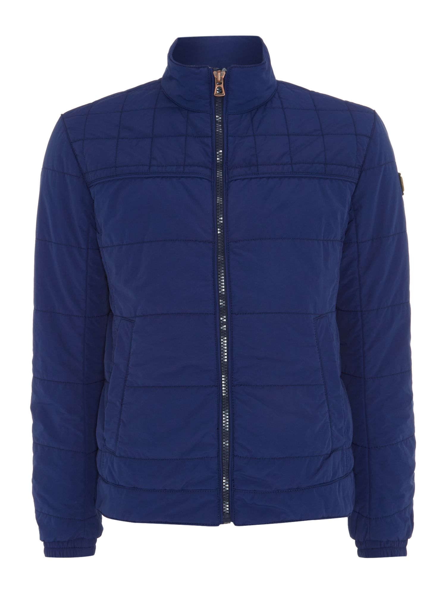 Mens Hugo Boss Padded Blouson Two Pocket Jacket Blue