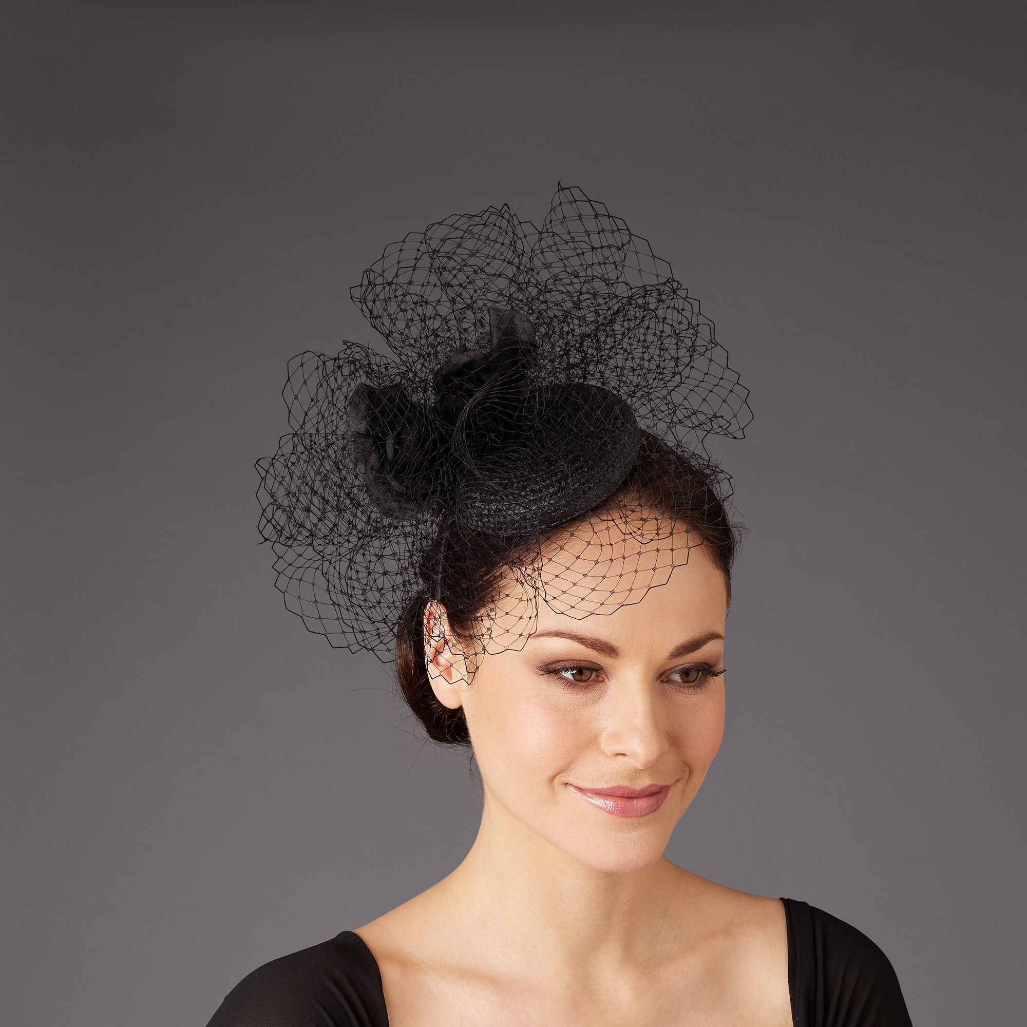 Rachel trevor-morgan black corsage headp