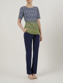 Geo ombre blouse