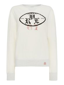 Polo Ralph Lauren Crew Neck Polo Logo Sweatshirt