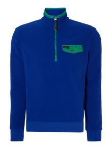 Polo Ralph Lauren Mock half zip sweatshirt