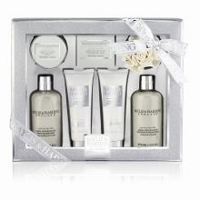 Jojoba, Silk & Almond Oil Body Indulgence Set