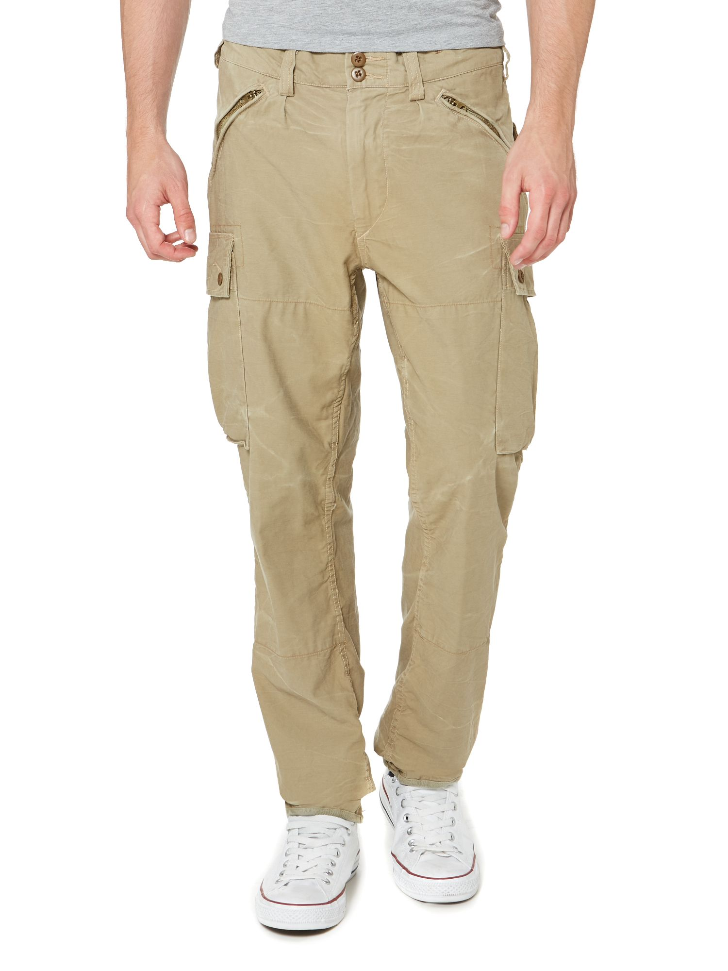 Slim fit mountain cargo trouser