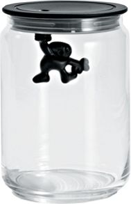 Alessi Gianni Jar, Medium, Black