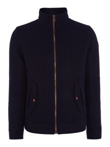 Woolen Zip Up Two Pocket Jacket