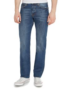 Standard regular light wash jeans