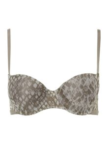 Calvin Klein Abstract sensual balconette bra