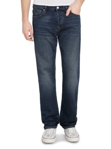 Bootcut light wash jeans