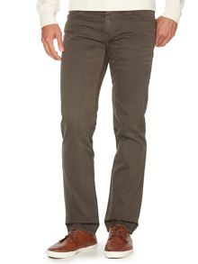 Regular straight leg grey jean