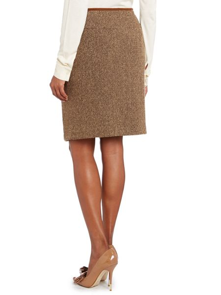 Lauren Ralph Lauren Straight wool skirt