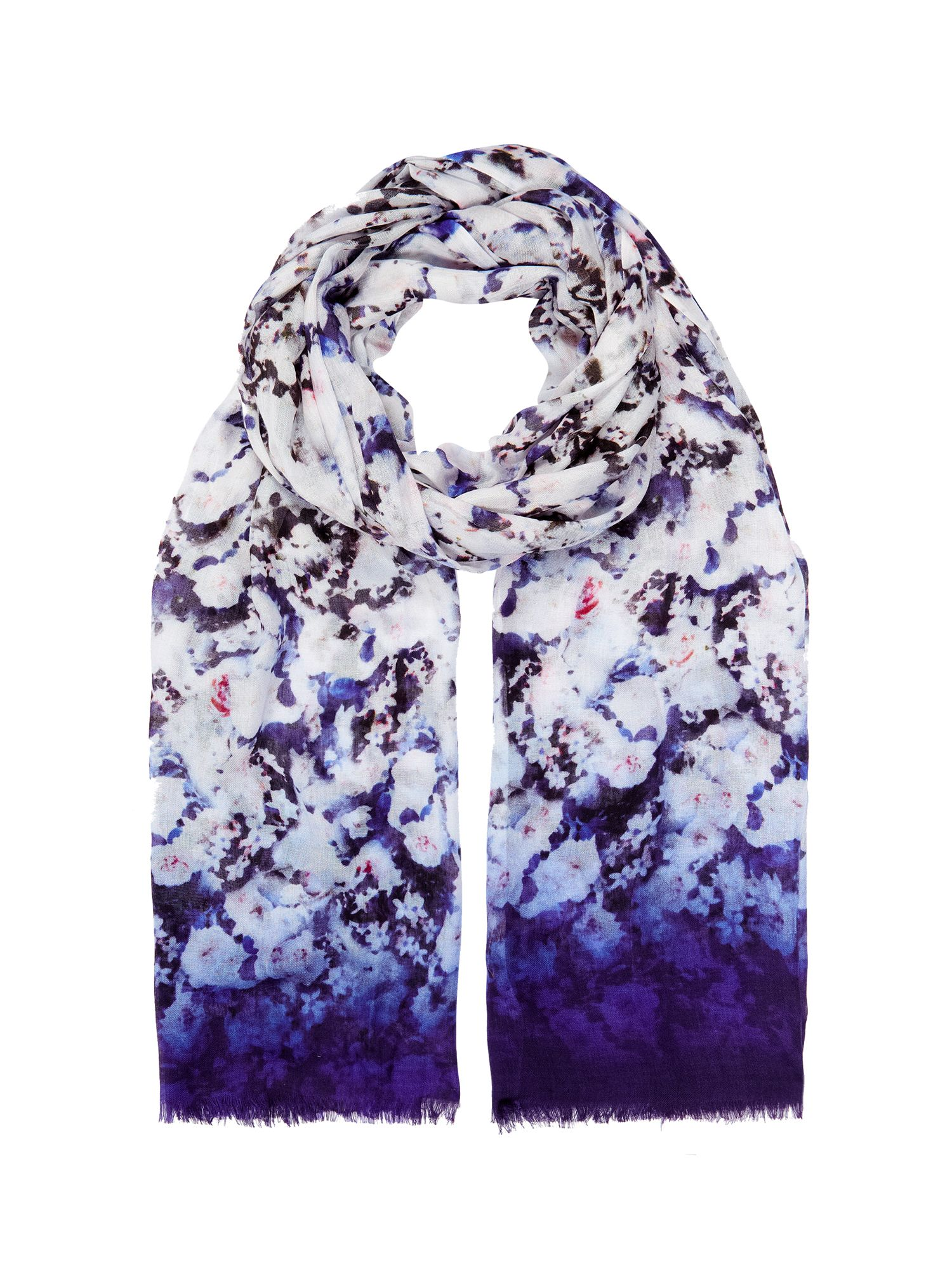 Graduated haze scarf