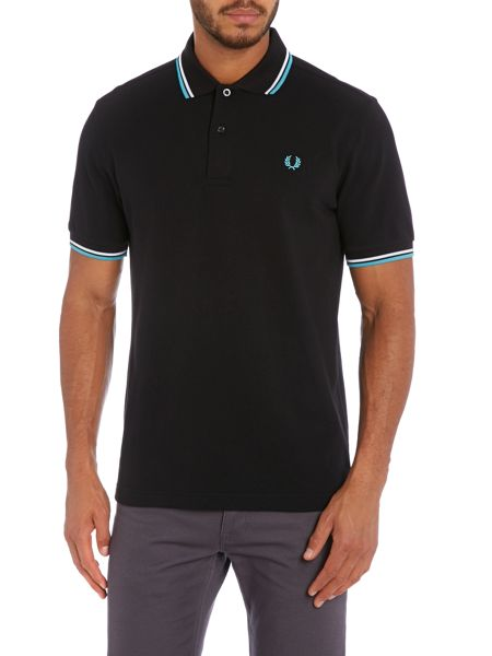 Fred Perry Short-sleeved twin tipped polo shirt