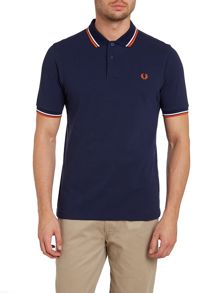Twin tipped slim fitted polo