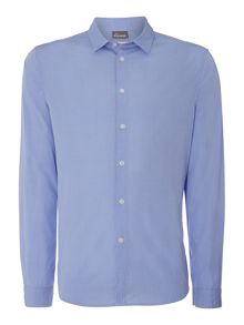 Triking Plain Chambray Long Sleeve Shirt