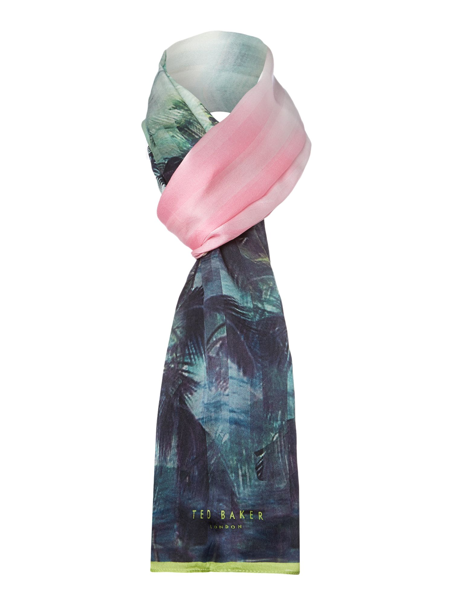 Palm Tree Paradise Long Scarf