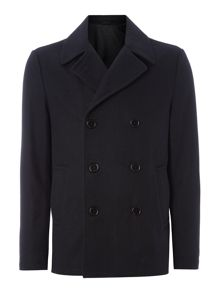 Paramount Double Breasted Wool Coat