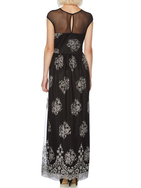 Therapy Caviar bead maxi dress