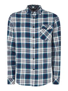 Seb check long sleeve shirt