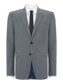 Byard Slim Fit Wool Solid Suit
