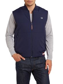 Tipped gilet