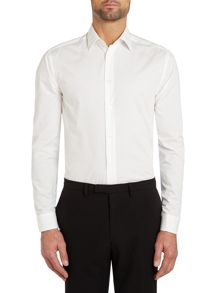 Mini spot slim fit shirt