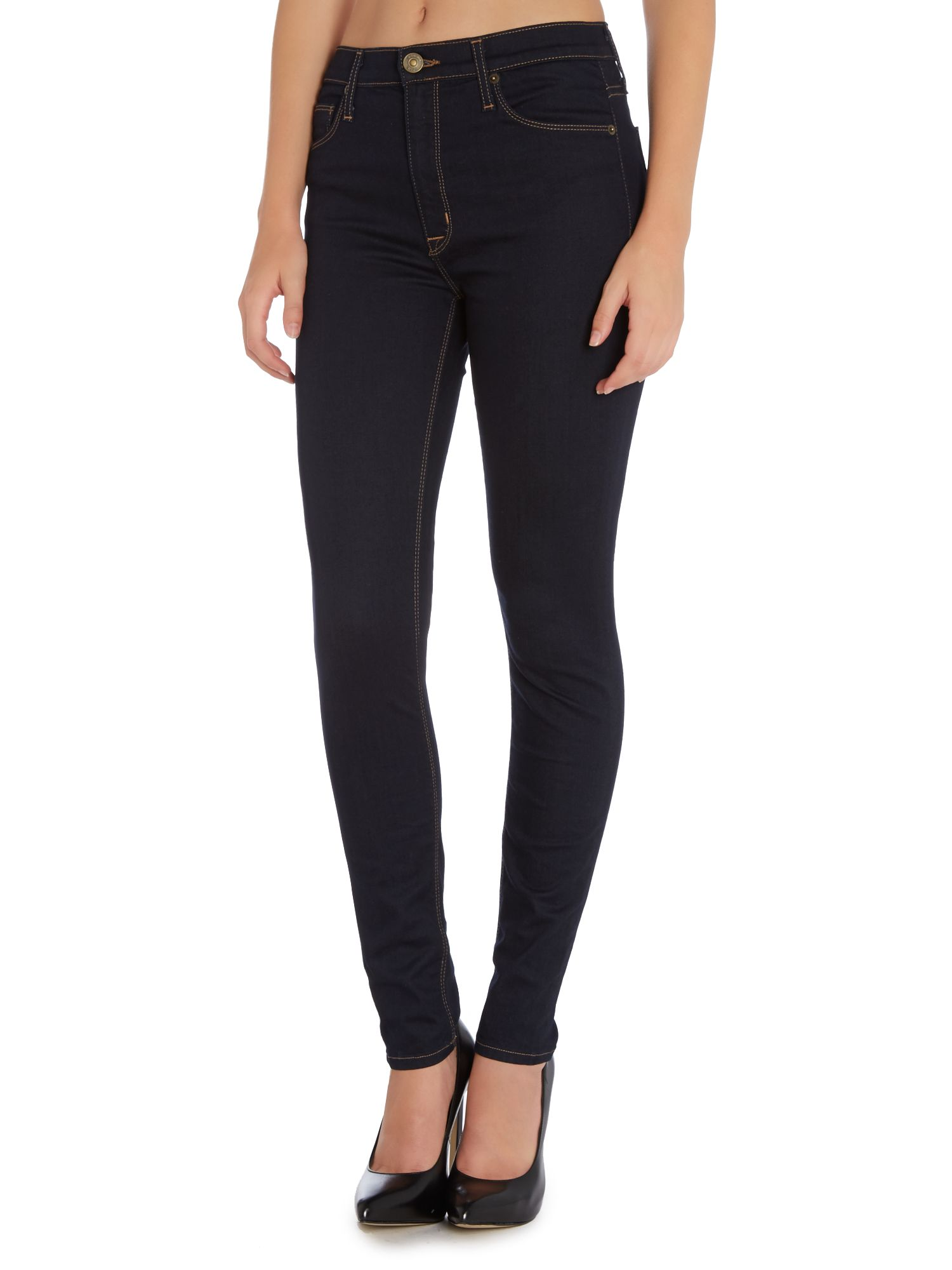 Barbara high rise jeans in storm