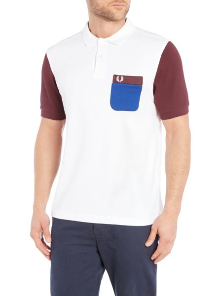 Fred Perry Tricot pocket pique short sleeve polo