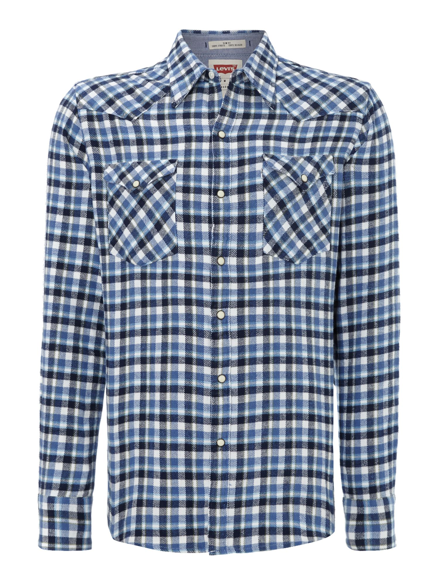 Plaid western shirt