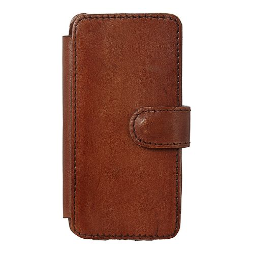 Linea Leather IPhone Case - Tan