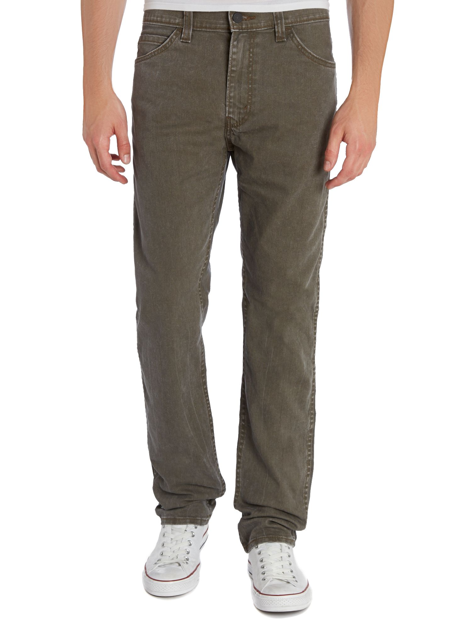 Line 8 508 tapered khaki jean