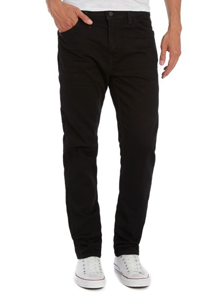 Levi's Line 8 508 regular taper fit black 3d jean