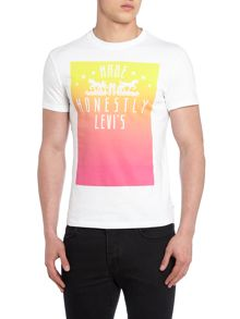 Made honestly ombre graphic t shirt