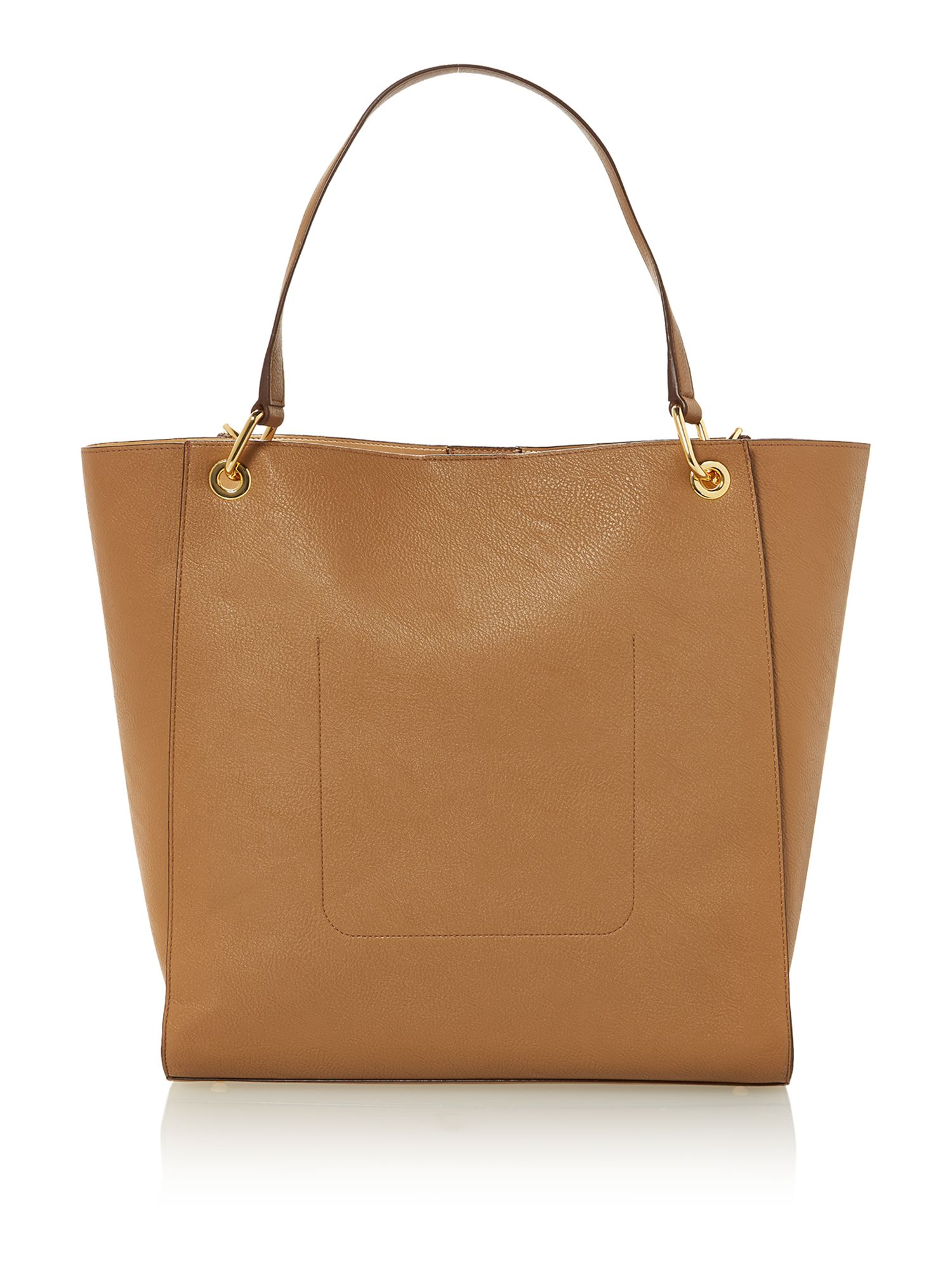 Neutral large tote bag