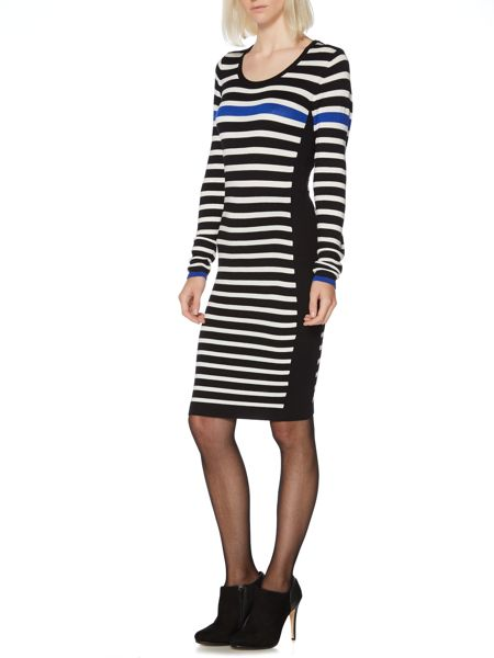 Therapy Stripe knitted dress