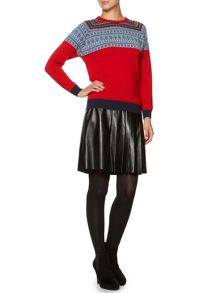 betty raglan knit jumper