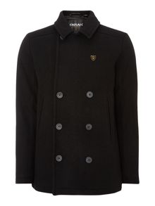 Farah Double breasted pea coat