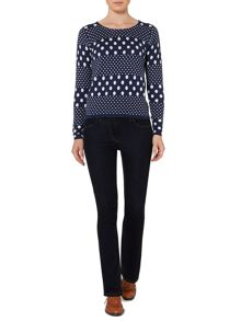 Multi dotty jumper