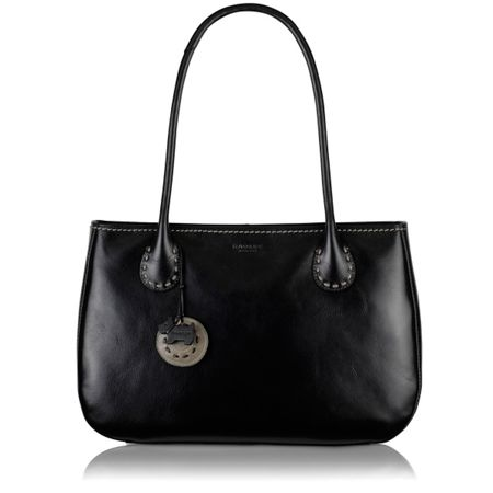 Radley Exclusive leather blk tote handbag