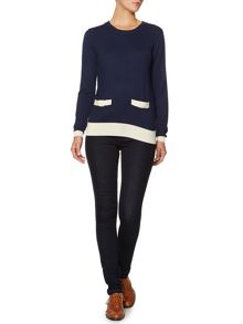 Bow pocket jumper