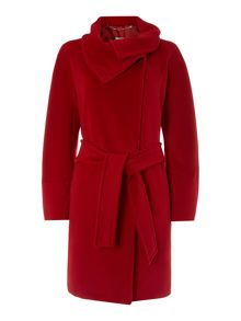 Magia wool cashmere belted coat