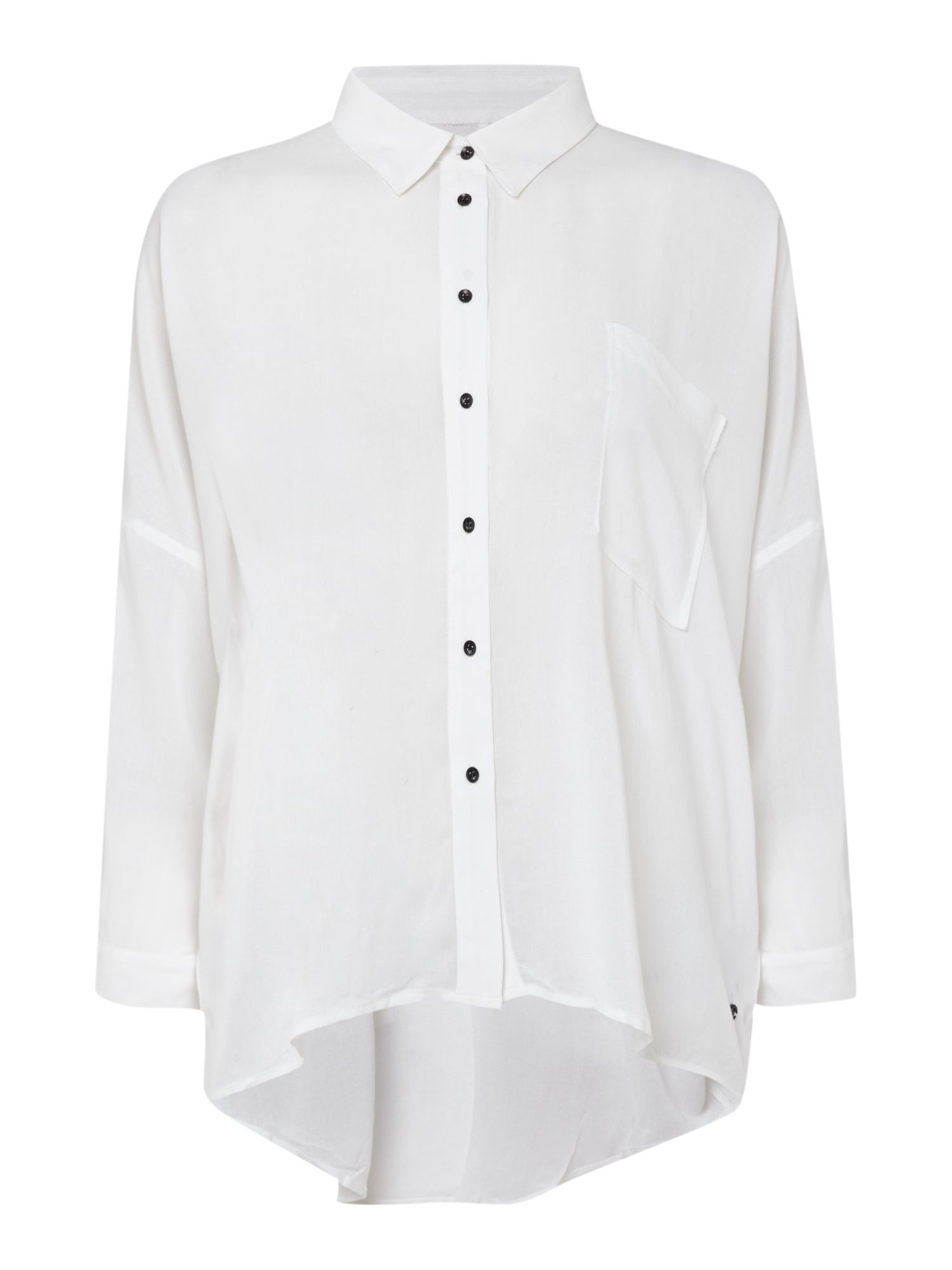 Viscose Over-Size Fit Shirt