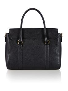 Black large tote handbag