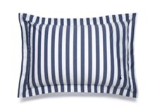 Ralph Lauren Home Club stripe navy king sham
