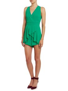 Wal-G Cross Over Top frill Playsuit