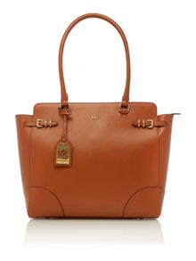Tan large tote bag