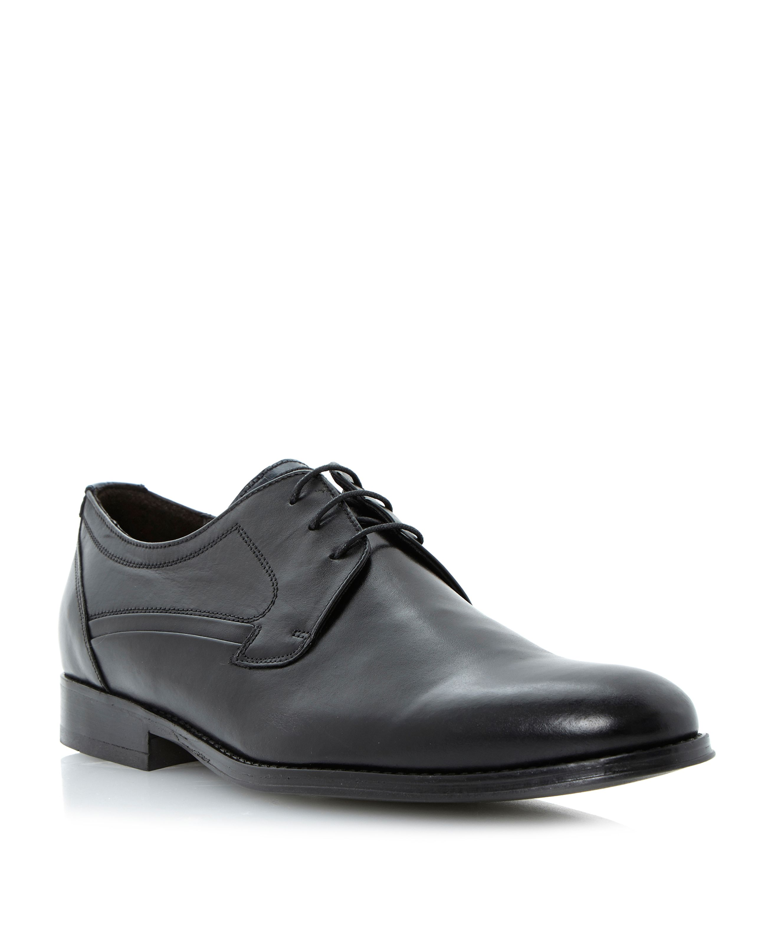 Robinson plain almond toe lace up shoes