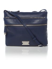 Dashwood navy cross body bag