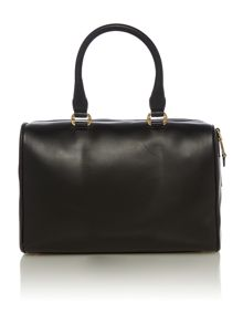 Black medium satchel bag